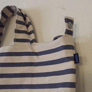 BAGGU Bags - Baggu canvas striped tote NWOT